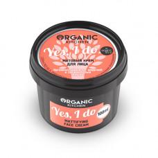 Крем матовый для лица  YES, I DO  серия Organic Kitchen  100ml Organic Shop